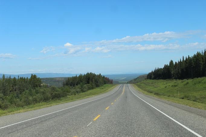 Long road ahead as we push west through Alberta...