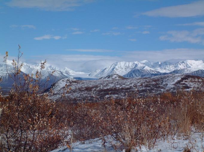 AK 8 Alaska Range w-Glacier