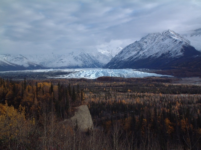 Matanuska Glacier Head On