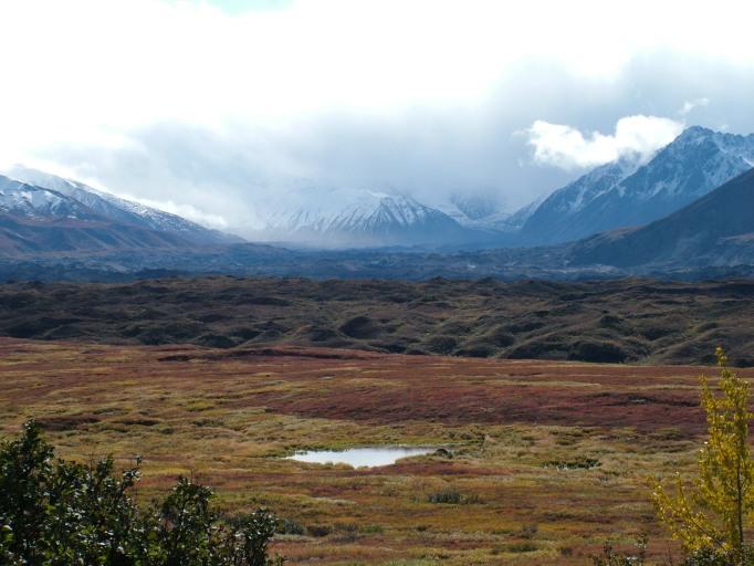 Muldrow Glacier fade to AK Range
