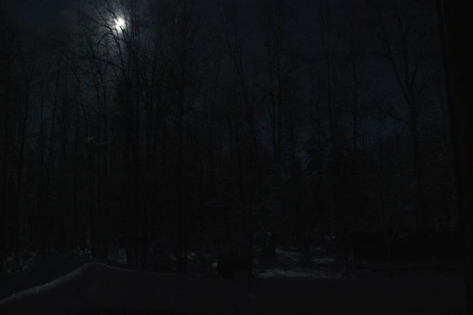 Moonlit Back Porch @ -22