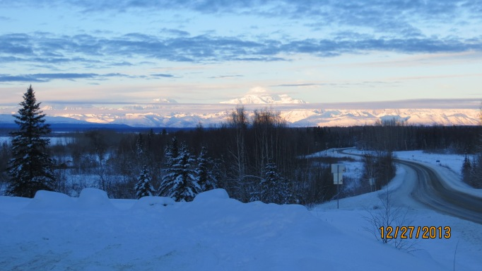 Clouds And The Alaska Range