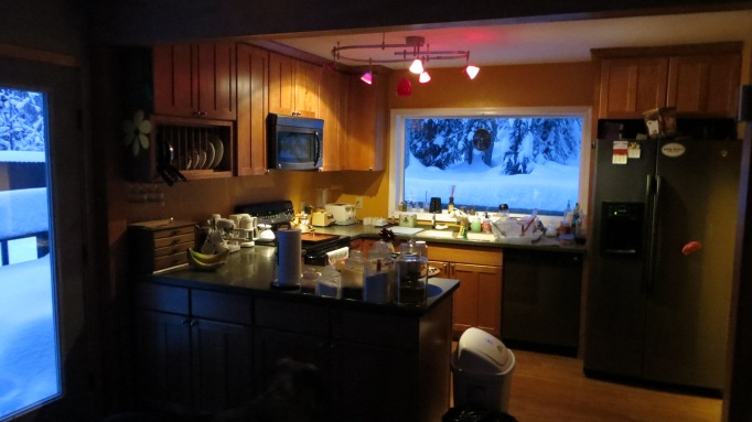 This is my kitchen taken from the dining area