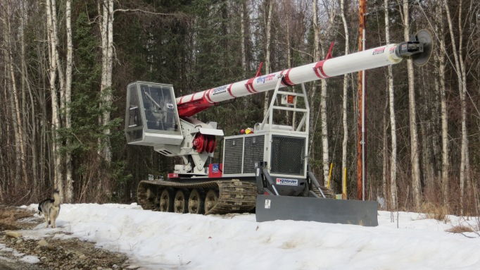 MEA (Matanuska Electric Cooperative) Power Line Clearing Equipment