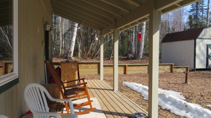 My front porch looking abnormally clean..!