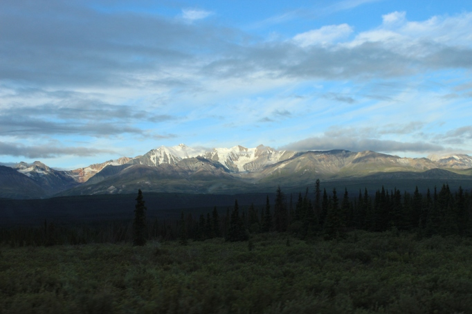 Awesome peaks in Kluane Provincial Park located in The Yukon Territories