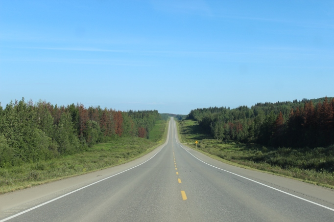 Amazing distances in Manitoba, Canada