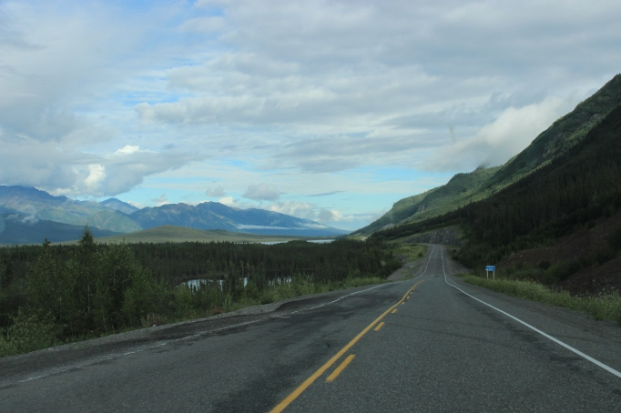 The Alaska Highway turns ugly in The Yukon Territories, Canada!