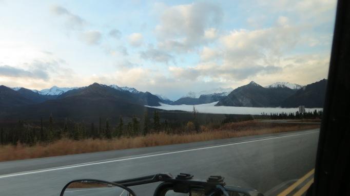 Fog Over Matanuska Glacier